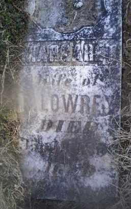 LOWREY, MARGARET - Ross County, Ohio | MARGARET LOWREY - Ohio Gravestone Photos