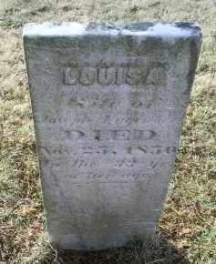 LUGENBEEL, LOUISA - Ross County, Ohio   LOUISA LUGENBEEL - Ohio Gravestone Photos