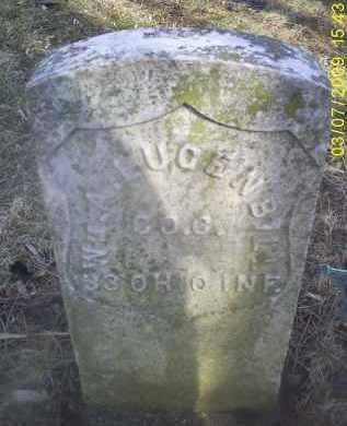 LUGENBILL, WM. A. - Ross County, Ohio | WM. A. LUGENBILL - Ohio Gravestone Photos