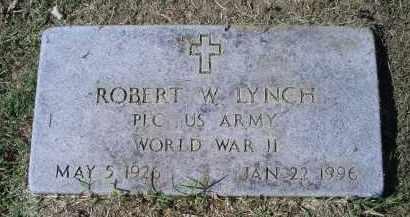 LYNCH, ROBERT W. - Ross County, Ohio | ROBERT W. LYNCH - Ohio Gravestone Photos
