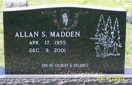 MADDEN, ALLAN S. - Ross County, Ohio | ALLAN S. MADDEN - Ohio Gravestone Photos