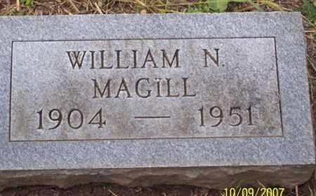 MAGILL, WILLIAM N. - Ross County, Ohio | WILLIAM N. MAGILL - Ohio Gravestone Photos