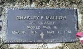 MALLOW, CHARLEY E. - Ross County, Ohio | CHARLEY E. MALLOW - Ohio Gravestone Photos