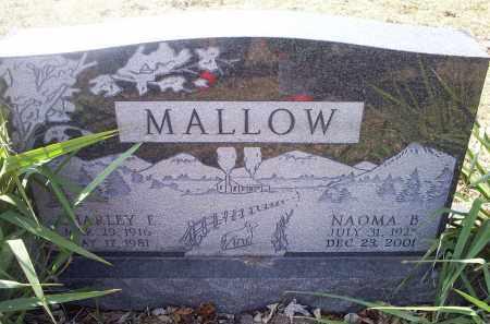 MALLOW, NAOMA B. - Ross County, Ohio   NAOMA B. MALLOW - Ohio Gravestone Photos