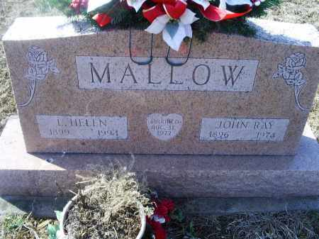 MALLOW, L. HELEN - Ross County, Ohio   L. HELEN MALLOW - Ohio Gravestone Photos