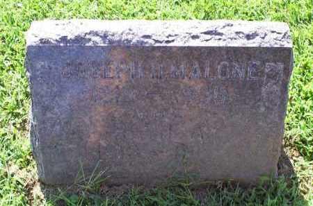 MALONE, JOSEPH H. - Ross County, Ohio | JOSEPH H. MALONE - Ohio Gravestone Photos