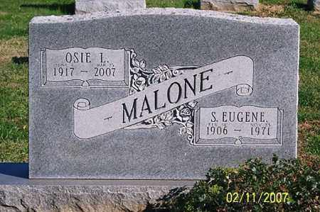 MALONE, OSIE L. - Ross County, Ohio | OSIE L. MALONE - Ohio Gravestone Photos