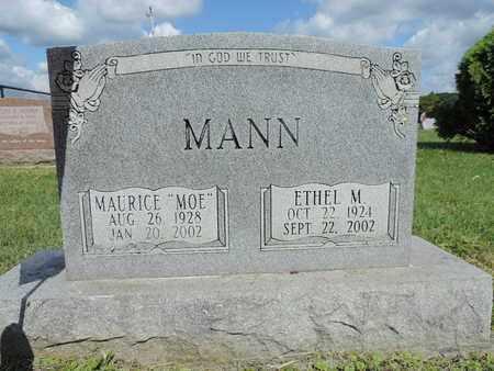 MANN, ETHEL M - Ross County, Ohio | ETHEL M MANN - Ohio Gravestone Photos