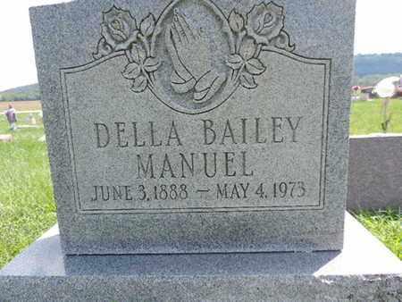 MANUEL, DELLA - Ross County, Ohio | DELLA MANUEL - Ohio Gravestone Photos