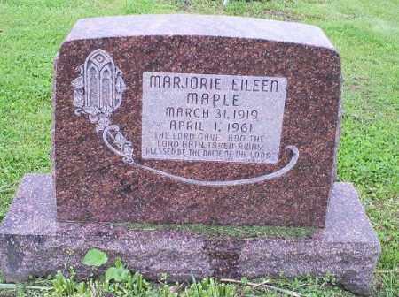 MAPLE, MARJORIE EILEEN - Ross County, Ohio | MARJORIE EILEEN MAPLE - Ohio Gravestone Photos