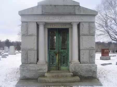 MARFIELD FULLERTON FERGUSON, MAUSOLEUM - Ross County, Ohio   MAUSOLEUM MARFIELD FULLERTON FERGUSON - Ohio Gravestone Photos