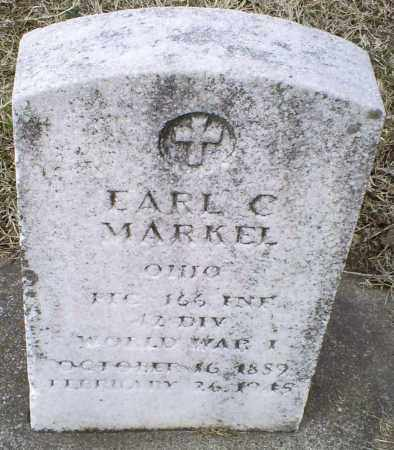 MARKEL, EARL C. - Ross County, Ohio | EARL C. MARKEL - Ohio Gravestone Photos
