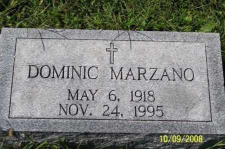 MARZANO, DOMINIC - Ross County, Ohio   DOMINIC MARZANO - Ohio Gravestone Photos