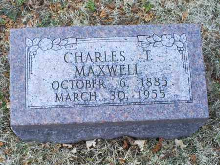MAXWELL, CHARLES T. - Ross County, Ohio | CHARLES T. MAXWELL - Ohio Gravestone Photos
