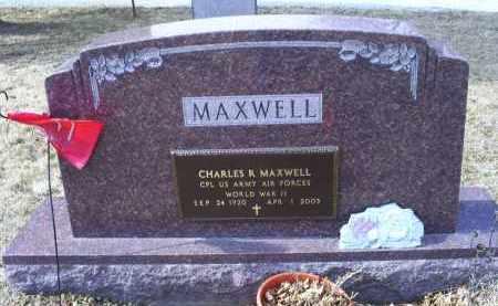 MAXWELL, CHARLES R. - Ross County, Ohio | CHARLES R. MAXWELL - Ohio Gravestone Photos