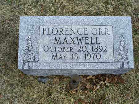 MAXWELL, FLORENCE - Ross County, Ohio | FLORENCE MAXWELL - Ohio Gravestone Photos