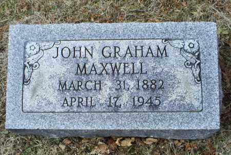 MAXWELL, JOHN GRAHAM - Ross County, Ohio | JOHN GRAHAM MAXWELL - Ohio Gravestone Photos
