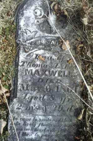MAXWELL, LEAH ISABELLA - Ross County, Ohio   LEAH ISABELLA MAXWELL - Ohio Gravestone Photos