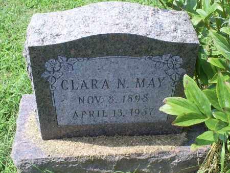 MAY, CLARA N. - Ross County, Ohio | CLARA N. MAY - Ohio Gravestone Photos