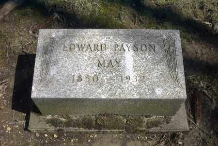 MAY, EDWARD PAYSON - Ross County, Ohio | EDWARD PAYSON MAY - Ohio Gravestone Photos