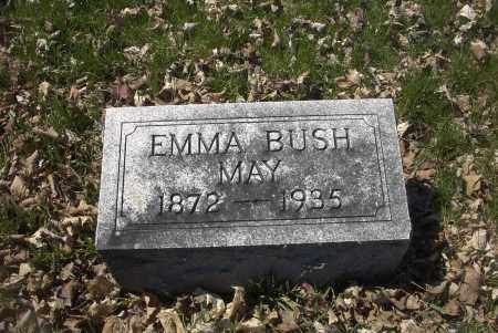 BUSH MAY, EMMA - Ross County, Ohio | EMMA BUSH MAY - Ohio Gravestone Photos
