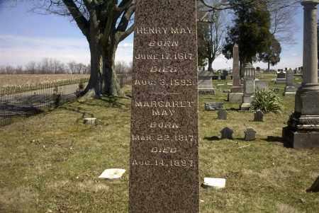 MAY, HENRY - Ross County, Ohio | HENRY MAY - Ohio Gravestone Photos