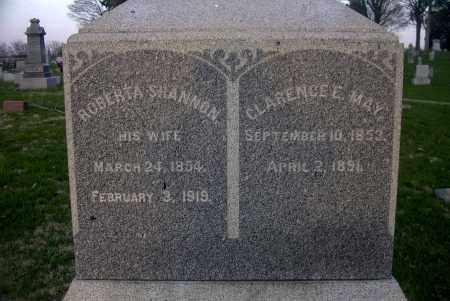 MAY, ROBERTA SHANNON - Ross County, Ohio | ROBERTA SHANNON MAY - Ohio Gravestone Photos