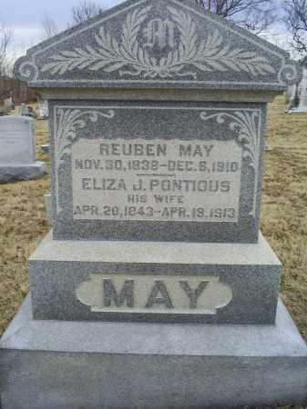 MAY, REUBEN - Ross County, Ohio   REUBEN MAY - Ohio Gravestone Photos