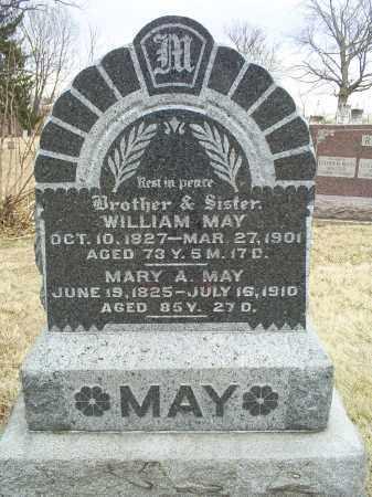 MAY, WILLIAM - Ross County, Ohio | WILLIAM MAY - Ohio Gravestone Photos