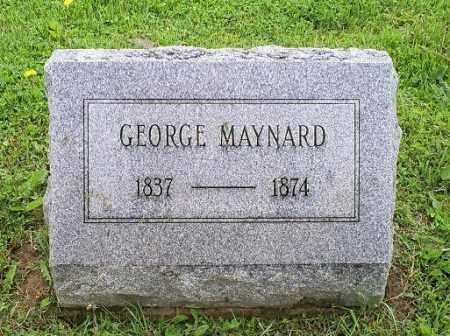 MAYNARD, GEORGE - Ross County, Ohio | GEORGE MAYNARD - Ohio Gravestone Photos