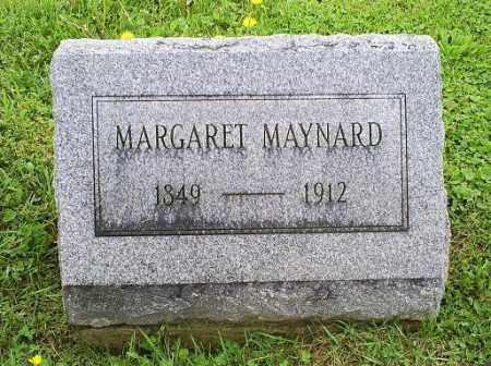 MAYNARD, MARGARET - Ross County, Ohio   MARGARET MAYNARD - Ohio Gravestone Photos