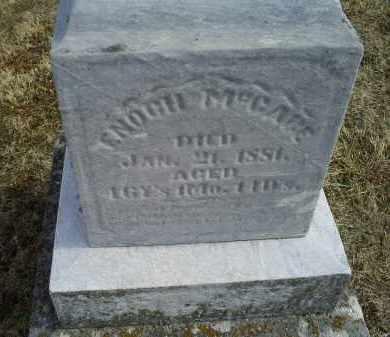 MCCABE, ENOCH - Ross County, Ohio   ENOCH MCCABE - Ohio Gravestone Photos