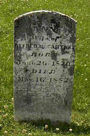 MCCARTNEY, ALFRED - Ross County, Ohio | ALFRED MCCARTNEY - Ohio Gravestone Photos