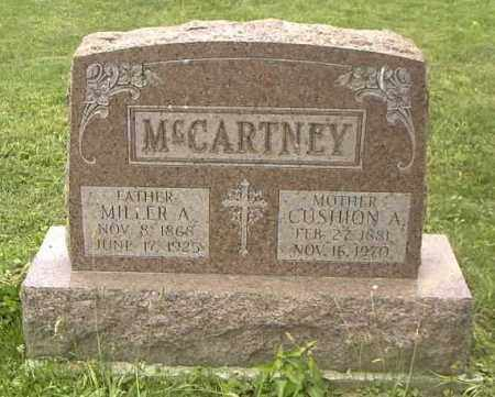 MCCARTNEY BROOKS, CUSHION ADETH - Ross County, Ohio | CUSHION ADETH MCCARTNEY BROOKS - Ohio Gravestone Photos