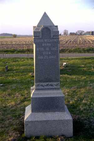 MCCARTNEY, THOMAS - Ross County, Ohio   THOMAS MCCARTNEY - Ohio Gravestone Photos
