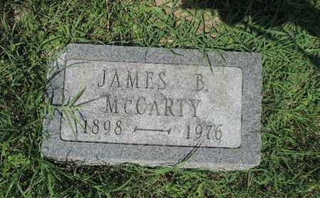 MCCARTY, JAMES B - Ross County, Ohio | JAMES B MCCARTY - Ohio Gravestone Photos