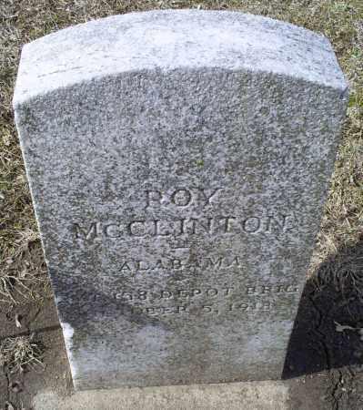 MCCLINTON, ROY - Ross County, Ohio | ROY MCCLINTON - Ohio Gravestone Photos
