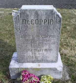 HUFFMAN MCCOPPIN, MARY - Ross County, Ohio   MARY HUFFMAN MCCOPPIN - Ohio Gravestone Photos