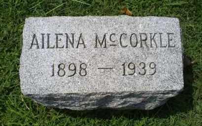 MCCORKLE, AILENA - Ross County, Ohio | AILENA MCCORKLE - Ohio Gravestone Photos