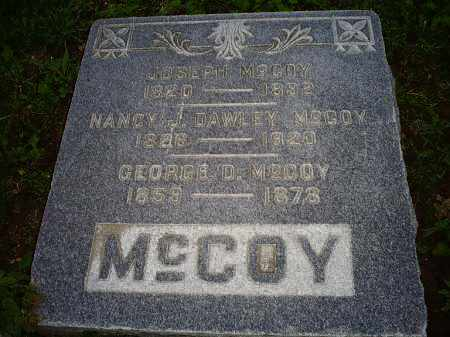 DAWLEY MCCOY, NANCY J. - Ross County, Ohio | NANCY J. DAWLEY MCCOY - Ohio Gravestone Photos