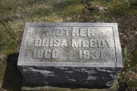 MCCOY, LOUISA - Ross County, Ohio   LOUISA MCCOY - Ohio Gravestone Photos