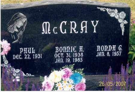 MCCRAY, PAUL - Ross County, Ohio | PAUL MCCRAY - Ohio Gravestone Photos