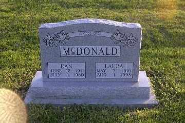 MCDONALD, LAURA - Ross County, Ohio | LAURA MCDONALD - Ohio Gravestone Photos