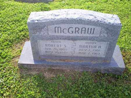 MCGRAW, MARTHA A. - Ross County, Ohio | MARTHA A. MCGRAW - Ohio Gravestone Photos