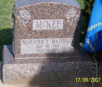 HATFIELD MCKEE, MARJORIE E. - Ross County, Ohio | MARJORIE E. HATFIELD MCKEE - Ohio Gravestone Photos