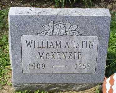 MCKENZIE, WILLIAM AUSTIN - Ross County, Ohio | WILLIAM AUSTIN MCKENZIE - Ohio Gravestone Photos