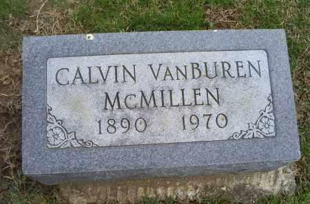 MCMILLEN, CALVIN VANBUREN - Ross County, Ohio   CALVIN VANBUREN MCMILLEN - Ohio Gravestone Photos