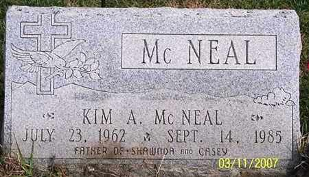 MCNEAL, KIM A. - Ross County, Ohio | KIM A. MCNEAL - Ohio Gravestone Photos