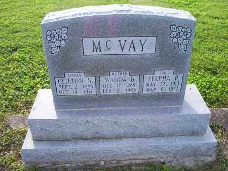 MCVAY, WANDA B. - Ross County, Ohio | WANDA B. MCVAY - Ohio Gravestone Photos