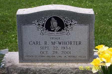 MCWHORTER, CARL R. - Ross County, Ohio | CARL R. MCWHORTER - Ohio Gravestone Photos